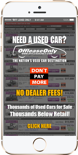Off Lease Only Used Cars for Sale